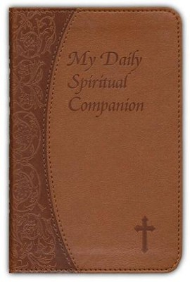 My Daily Spiritual Companion, Imitation Leather, Brown  -     By: Marci Alborghetti