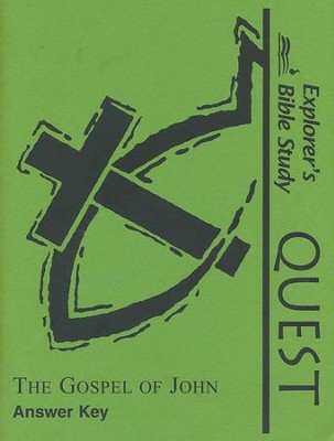 The Gospel of John Answer Key   -