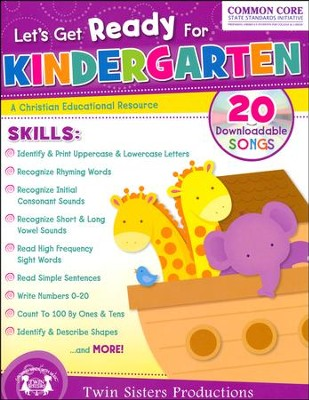 Let's Get Ready for Kindergarten   -