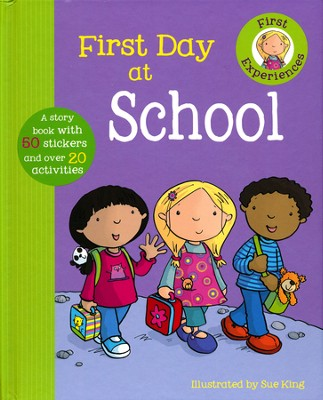 First Day Of School  -     By: Ronne Randall     Illustrated By: Sue King