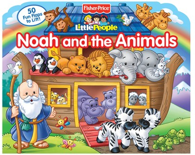 Fisher Price Little People Lift-the-Flap Noah and the Animals  -     By: Froeb