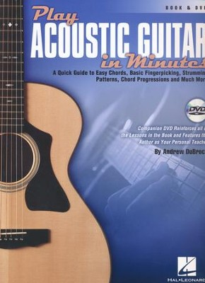 Play Acoustic Guitar in Minutes Book/DVD   -     By: Andrew DuBrock