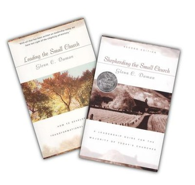 Shepherding the Small Church & Leading the Small Church 2-Volume Pack  -     By: Glenn C. Daman