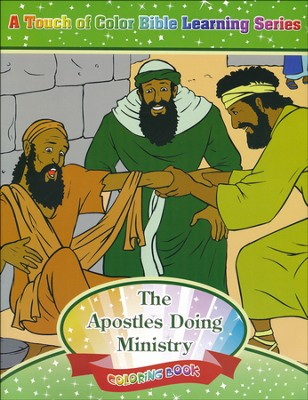 The Apostles Doing Ministry Coloring Book  -