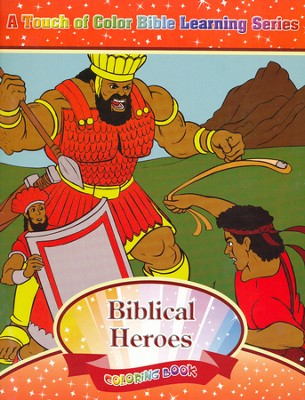 Biblical Heroes Coloring Book  -