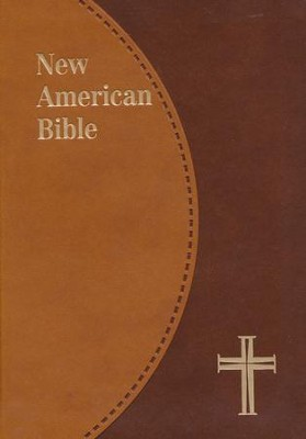 NAB New American Bible Personal Size, St Joseph Ed., Duotone Brown   -