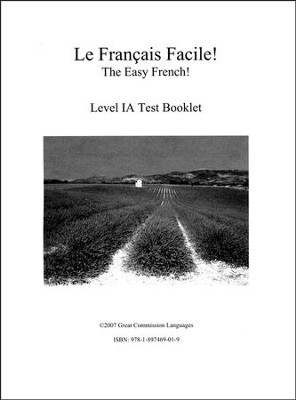 Le Francais Facile! Test Book Level 1A   -     By: Marie Filion