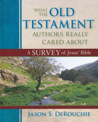 What the Old Testament Authors Really Cared About  -     Edited By: Jason S. DeRouchie