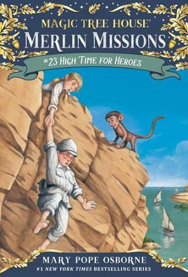 Magic Tree House #51: High Time for Heroes - eBook  -     By: Mary Pope Osborne     Illustrated By: Sal Murdocca