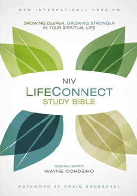 NIV Life Connect Study Bible, hardcover  -     By: Wayne Cordeiro