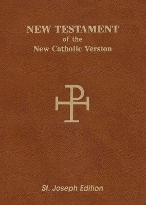 NAB Saint Joseph Vest Pocket New Testament, Paper, Brown  -