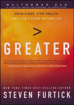 Greater DVD  -     By: Steven Furtick
