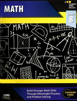 Steck-Vaughn Core Skills Math Workbook Grade 8  -