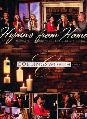 Hymns from Home, DVD   -     By: The Collingsworth Family