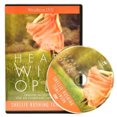 Heart Wide Open DVD: Trading Mundane Faith for an Exuberant Life with Jesus  -     By: Shellie Rushing Tomlinson