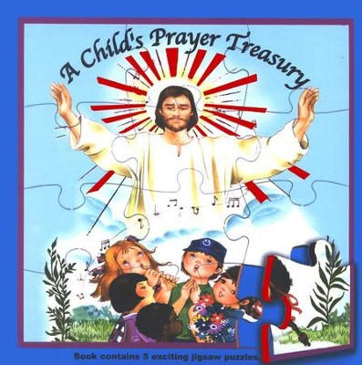 A Child's Prayer Treasury Puzzle Book  -     By: Rev. Lawrence Lovasik