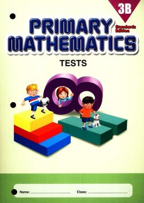 Primary Mathematics Tests 3B (Standards Edition)   -