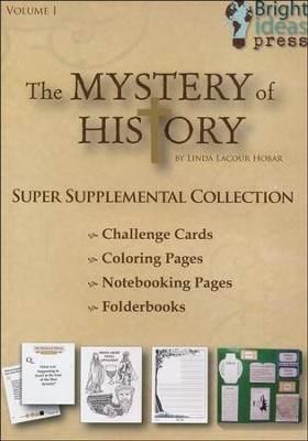 The Mystery of History 1 Super Supplemental Collection on CD-ROM (Single Family License)  -