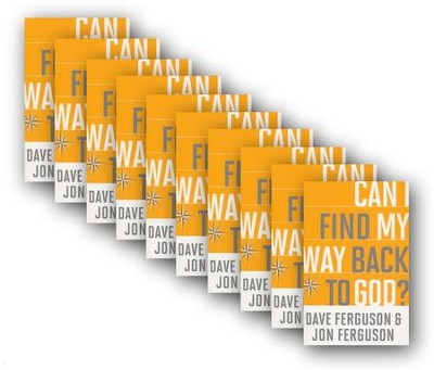 Can I Find My Way Back to God? 10 pack   -     By: Dave Ferguson, Jon Ferguson
