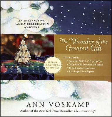 The Wonder of the Greatest Gift--An Interactive Family Celebration of Advent  -     By: Ann Voskamp