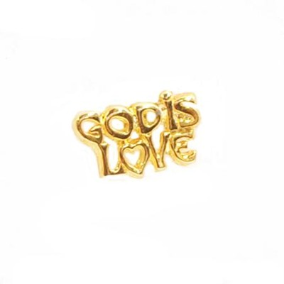 God Is Love, Lapel Pin   -