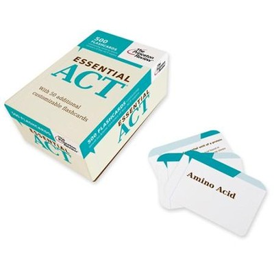 Essential ACT Flash Cards   -     By: The Princeton Review
