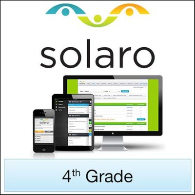 SOLARO: Grade 4, 3-Course Bundle (Access Code)   -