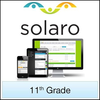 SOLARO: Grade 11, 2-Course Bundle (Access Code)   -