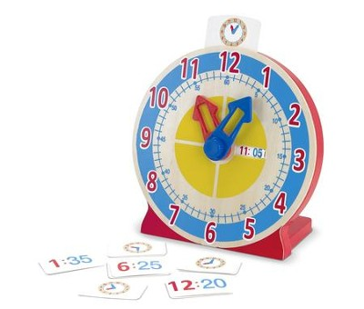 Turn and Tell Clock  -