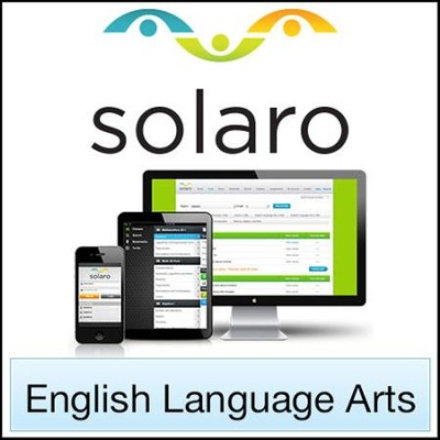SOLARO: English Language Arts, Grade 7 (Access Code)   -