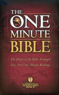 The HCSB One-Minute Bible   -