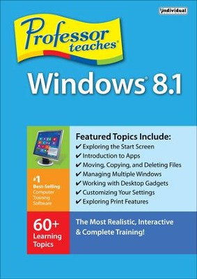 Professor Teaches Windows 8.1, Access Code   -