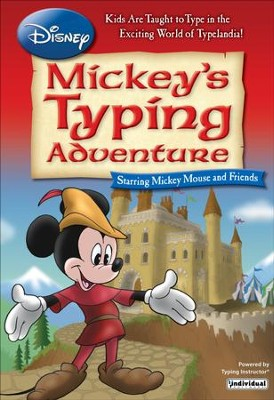 Disney: Mickey's Typing Adventure (Windows),  Access Code  -