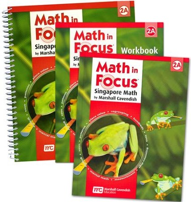 Math in Focus: The Singapore Approach Grade 2 First Semester Homeschool Package  -