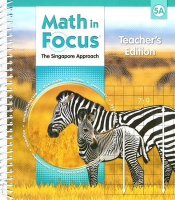 Math in Focus: The Singapore Approach Grade 5 First Semester Homeschool Package  -