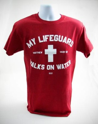 My Lifeguard Shirt, Red,  Large  -