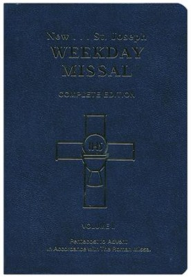 St. Joseph Weekday Missal, Complete Edition, Volume 2, Pentecost to Advent, Blue  -