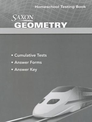 Saxon Geometry Testing Book   -