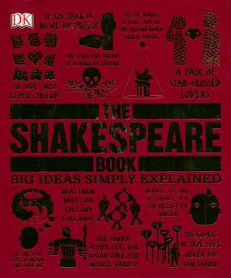 The Shakespeare Book: Big Ideas Simply Explained  -
