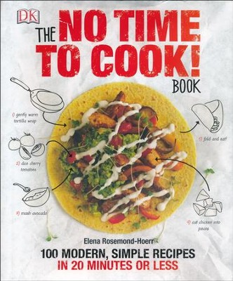 The Not Time to Cook! Book: 100 Modern Simple Recipes in 20 Minutes  -