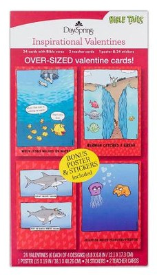 Bible Tails Children's Boxed Valentines  -