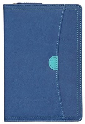 NIV Thinline Zippered Collection Bible, Compact, Italian Duo-Tone, Zipper Closure  -