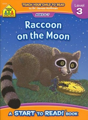 Start to Read: Raccoon on the Moon, Level 3   -