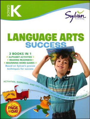 Kindergarten Language Arts Success (Sylvan Super Workbooks)  -     By: Sylvan Learning