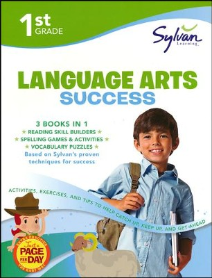 First Grade Language Arts Success (Sylvan Super Workbooks)  -     By: Sylvan Learning