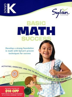 Basic Math Success Workbook: Kindergarten  -     By: Sylvan Learning