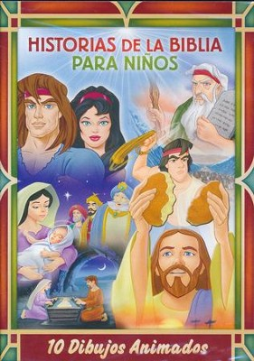 Historias de la Biblia para Niños   (Bible Stories for Kids), 2-DVD Set  -