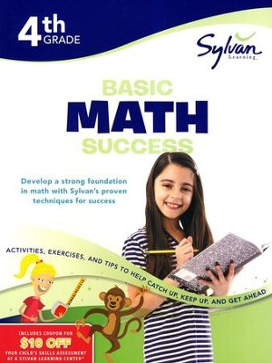 Basic Math Success Workbook: Fourth Grade  -     By: Sylvan Learning