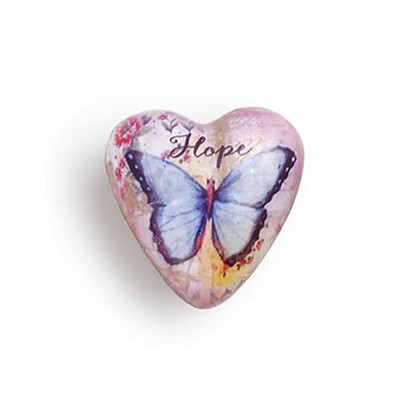 Hope, Art Heart Token  -     By: Christine Adolf