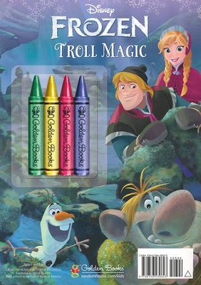 Frozen - Chunky Crayon Book  -     By: Courtney Carbone